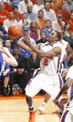 13th-Ranked Clemson Men's Basketball Team to Face Georgia Tech in Atlanta Sunday