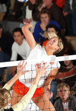 Tigers Down Wake Forest, 3-0, In Thursday Volleyball Action
