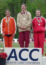Clemson Women's Track And Field Finishes Fourth At The 2003 ACC Outdoor Championships