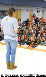 SOS Holds Be a T.I.G.E.R! Assembly at Westcliff Elementary