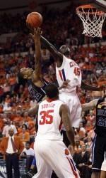 Clemson Clips Maryland, 62-53