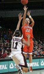 Ole Miss Hands Clemson 67-54 Loss in Women's Basketball