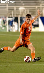 Clemson's Greg Eckhardt Named All-South by the NSCAA