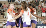 Tigers To Face Georgia Tech In Mid-Week Volleyball Action
