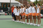 Clemson Stuns Top-Seed Georgia Tech in Semifinal Action of ACC Women's Tennis Championship