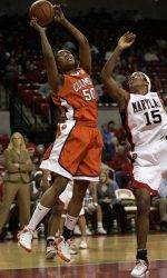 Lady Tigers Fall to #4 Maryland Thursday Night, 89-63
