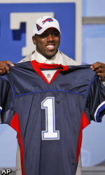 Spiller Taken by Buffalo with #9 Selection of NFL Draft