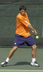 Former Clemson Tennis Great Clement Reix Plays in Pro Tournaments in Morocco