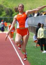 Weber Finishes Heptathlon's Day One at NCAA Championships