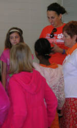 Solid Orange Squad Members Visit Three More Schools