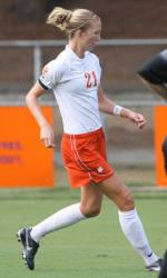 Clemson Women's Soccer Team Defeats Maryland 1-0 in Double Overtime
