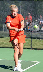 Tiger Women's Tennis Concludes Action At Furman Fall Classic
