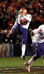 Five Clemson Football Players Named to All-ACC Academic Football Team