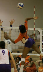 Tiger Volleyball Falls at Miami, 3-1 on Sunday Afternoon