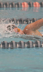 Lady Tiger Swimming & Diving In Sixth After Day One of ACC Championships