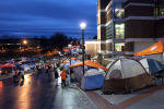 Tent Record Set as Student Interest in Clemson Men's Basketball Hits an All-Time High