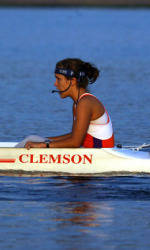 Clemson Rowing Wraps Up Day One at San Diego Crew Classic