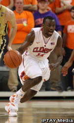 Young's Power Surge Lifts Tigers Past Georgia Tech, 64-62