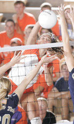 Clemson Falls Short in ACC Volleyball Tournament Semifinals