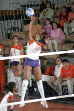 Tiger Volleyball Falls To Florida State, 3-1, On Friday Night
