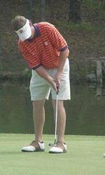 Clemson 15th as Rain Halts NCAA Golf Tournament
