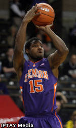 Clemson Men's Basketball Team to Play Host to Virginia Tuesday Night