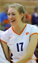 Clemson Volleyball Rally Falls Short Against Duke