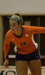 Clemson Volleyball Turns Away Virginia Tech in Five Sets