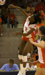 Clemson's Sandra Adeleye Selected ACC Volleyball Co-Player of the Week
