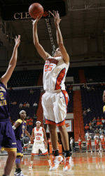 Lady Tigers Set School Block Record In 82-55 Win Over Furman On Wednesday