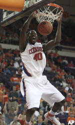 No. 24 Clemson Downs Presbyterian, 74-57