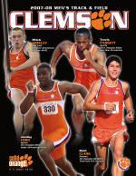 2007-08 Clemson Men's Track & Field Media Guide