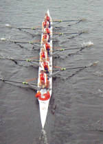 Rowing Travels to Rivanna Romp Sunday
