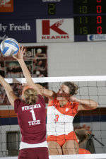 Tiger Volleyball Continues Road Stretch At Wake Forest And #13 Duke