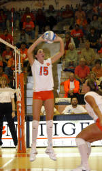 Clemson Sweeps Miami In Friday Volleyball Action