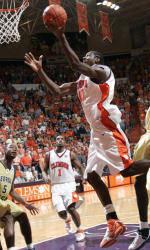 Tiger Men's Basketball Travels to Atlanta Saturday to Face the Yellow Jackets
