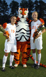 Tiger Women's Soccer Team Falls to 13th-Ranked Boston College on the Road Sunday