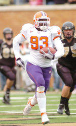 Adams Named IPTAY Athlete of the Year