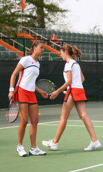 Tiger Doubles Team Reaches NCAA Final Four, Makes School History