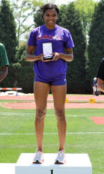 Weber, Sinkler Win Crowns Friday as Clemson Women Extend Lead at ACC Outdoor Championships