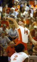 Hoover Notches Win No. 350 as Clemson Downs Maryland, 3-0, in Saturday Volleyball Action