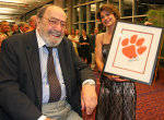 Clemson Football Game Program Feature: History of the Tiger Paw