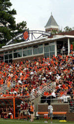 Monday's Clemson and UNC-Greensboro Men's Soccer Match Postponed