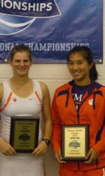 Josipa Bek, Keri Wong Claim USTA/ITA Carolina Regional Doubles Title