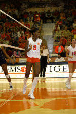 Tiger Volleyball To Play Host To Wake Forest, #14 Duke
