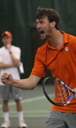 Clemson Men's Tennis Will Stage Its Last Two Home Matches This Weekend