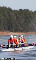 Clemson Rowing Sweeps Northeastern
