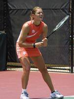 Clemson's Julie Coin Advances To Round Of 32 In NCAA Singles Tournament
