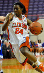 Samford Pulls Away from Lady Tigers, 58-48, on Sunday