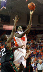 Tigers Get Back On Winning Track, 74-70, Over Miami In OT